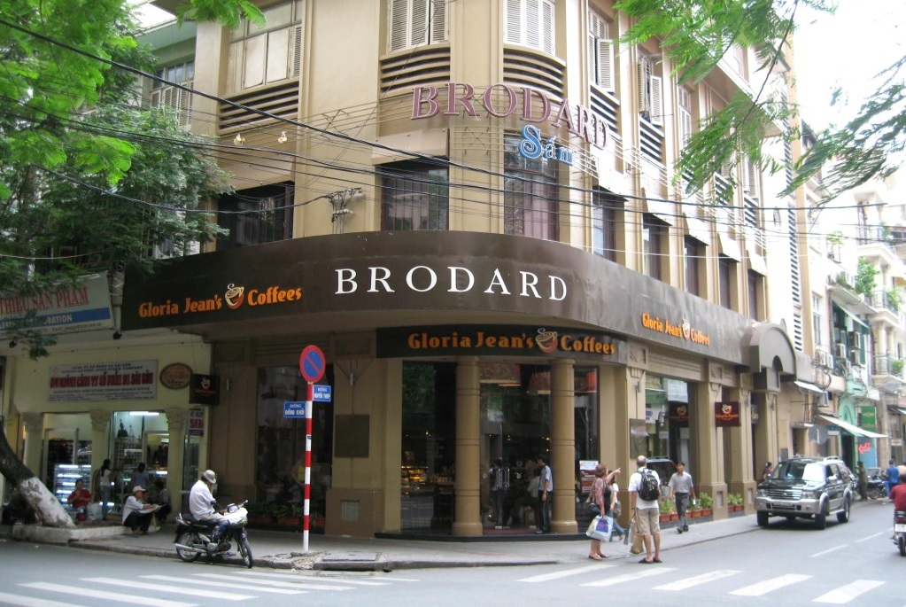 kavárna ve Vietnamu