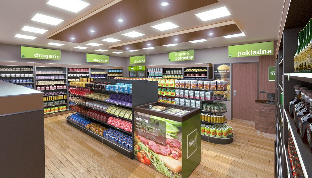 Fresh Stores - váš obchod s potravinami v sousedství