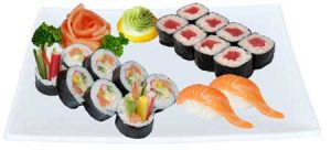 N57. Sushi set 18ks