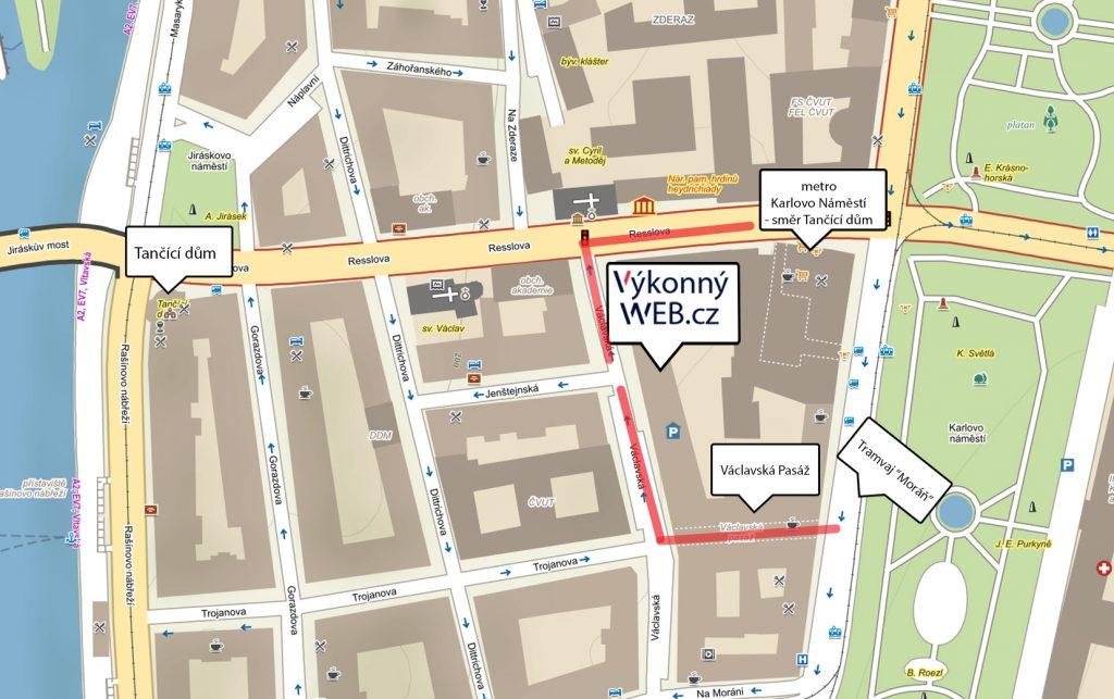 Tvorba webový stránek - Výkonný Web - Praha 2