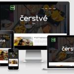 moderní responsivní web