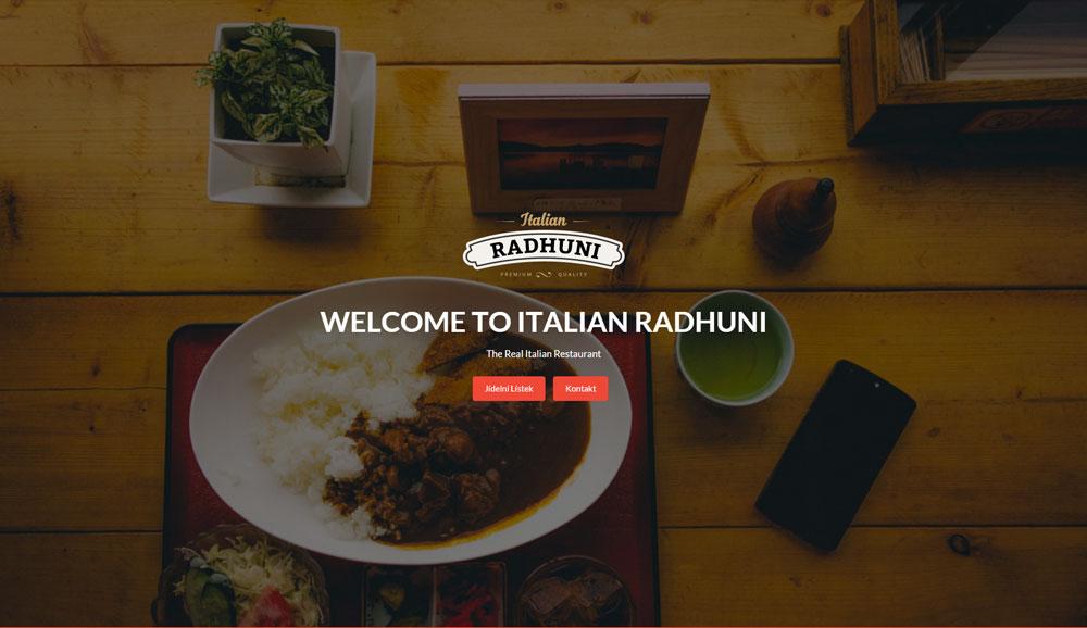 Tvorba webový stránek pro restaurace, hotely a hospody
