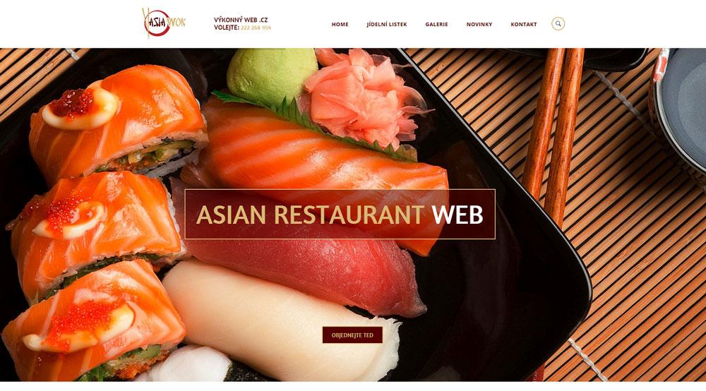 Moderní web pro restaurace, hotely a hospody